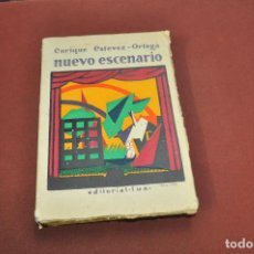 Libros antiguos: NUEVO ESCENARIO - ENRIQUE ESTEVEZ ORTEGA - AÑO 1928 - AAPM. Lote 133999638