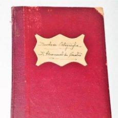 Libros antiguos: PARONOMASIAS DE DUDOSA ORTOGRAFÍA. Lote 135174782