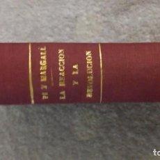 Libros antiguos: LA REACCIÓN Y LA REVOLUCIÓN. PI Y MARGALL 1854. Lote 138773302
