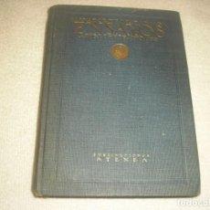 Libros antiguos: ENSAYOS ANGLO ESPAÑOLES . SALVADOR DE MADARIAGA 1922 . PUBLICACIONES ATENEA.. Lote 139198534