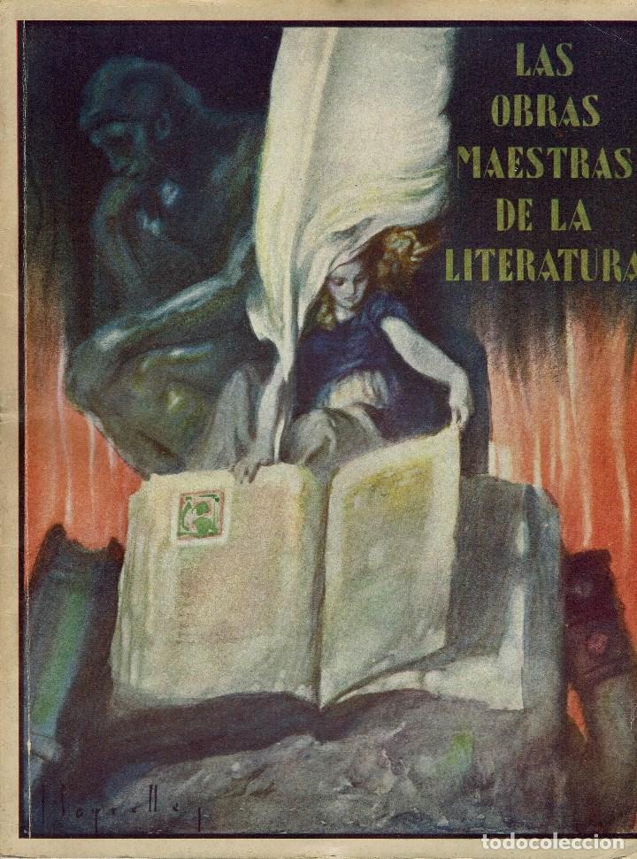 LAS OBRAS MAESTRAS DE LA LITERATURA.ANTOLOGÍA UNIVERSAL,DE GUILLERMO DE BOLADERES.TOMO I. 192?(11.8) (Libros antiguos (hasta 1936), raros y curiosos - Literatura - Ensayo)