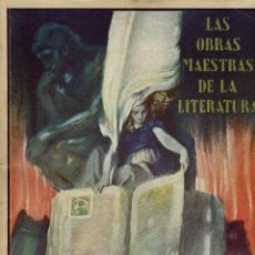 Libros antiguos: LAS OBRAS MAESTRAS DE LA LITERATURA.ANTOLOGÍA UNIVERSAL,DE GUILLERMO DE BOLADERES.TOMO I. 192?(11.8). Lote 139991794