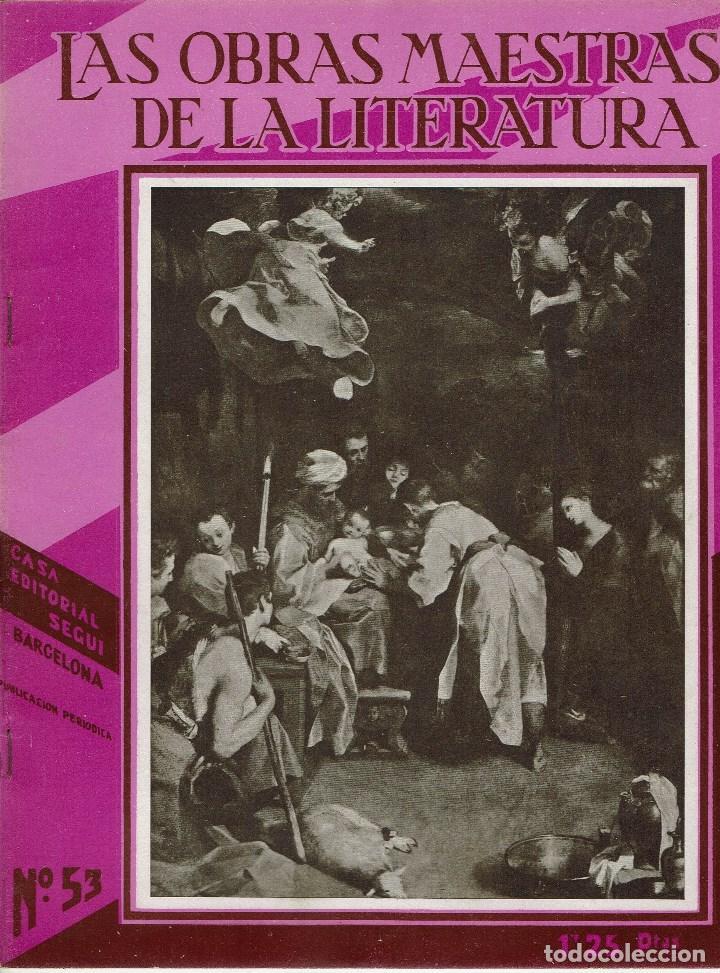 Libros antiguos: LAS OBRAS MAESTRAS DE LA LITERATURA. ANTOLOGÍA UNIVERSAL,DE GUILLERMO DE BOLADERES.TOMOII.192?(11.8) - Foto 6 - 140124878