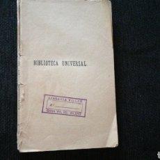 Libros antiguos: EL DIABLO MUNDO. ESPRONCEDA 1919. SIN TAPAS. Lote 140289334
