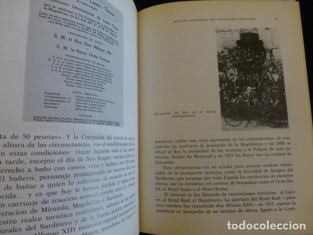 Libros antiguos: APUNTOS HISTORICO DEL SANTANDER ALFONSINO J. ALBERTO VALLEJO SANTANDER 1983 - Foto 4 - 140875986