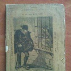 Libros antiguos: 1877 LA ESPAÑOLA INGLESA / EL CELOSO EXTREMEÑO - CERVANTES. Lote 204730085