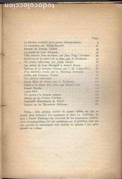 Libros antiguos: Per comprende 1927-1935 / Carles Riba. BCN : ILC, 1938. 19x14cm. 215 p. - Foto 3 - 141463182
