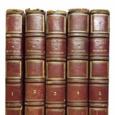 Libros antiguos: ESSAIS DE MICHEL DE MONTAIGNE. 1826. Lote 141673354