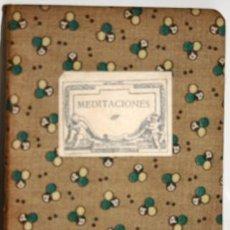 Libros antiguos: MEDITACIONES - HOYOS Y VINENT, ANTONIO DE. Lote 105509380