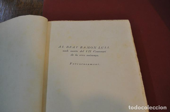 Libros antiguos: MISCEL·LÀNIA LUL·LIANA - HOMENATGE AL B. RAMON LULL (LLULL) ACLM - Foto 3 - 145112738