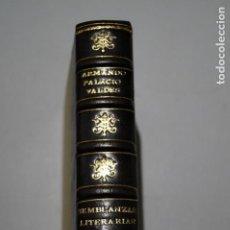 Libros antiguos: SEMBLANZAS LITERARIAS. ARMANDO PLACIO VALDES. 1908. Lote 146354286