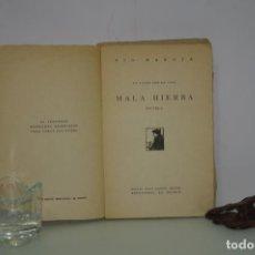 Alte Bücher - MALA HIERBA PIO BAROJA - 148385594