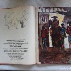 Libros antiguos: ERNEST HEMINGWAY. MUERTE EN LA TARDE. CON ILUSTRACIONES DE PABLO PICASSO. . Lote 150156398