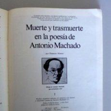 Libros antiguos: REVISTA DE OCCIDENTE Nº 5/6 // TERCERA ÉPOCA // 1976 // ANTONIO MACHADO POR DAMASO ALONSO. Lote 150355610