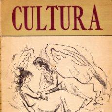 Libros antiguos: CULTURA. REVISTA DEL MINISTERIO DE EDUCACIÓN DE BUENOS AIRES. VARIOS AUTORES1950. Lote 151148410