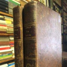 Libros antiguos: OBRAS DE EDUARDO YOUNG. MADRID: IMPRENTA REAL, 1804. 8VO. 484 PP. + 1H. TOMOS I Y II.. Lote 154312134