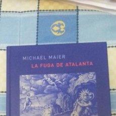 Libros antiguos: LA FUGA DE ATALANTA DE MICHAEL MAIER. Lote 156041934
