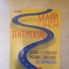 Libros antiguos: MAPA SENTIMENTAL. JAVIER URRA. AGUILAR. 2012 DEDICADO. . Lote 159100622