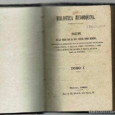 Libros antiguos: BIBLIOTECA MENORQUINA. COLECCIÓN DE LAS OBRAS QUE SE HAN ESCRITO SOBRE MENORCA. JUAN RAMIS.1864(1.3). Lote 161657534