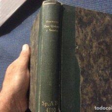 Libros antiguos: VIDA DE DON QUIJOTE Y SANCHO, COMENTADA POR UNAMUNO, MIGUEL, 1928 EN TAPA DURA DE BIBLIOTECA. Lote 163105738