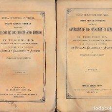 Libros antiguos: GENERACIÓN DE LOS CONOCIMIENTOS HUMANOS 4 VOLS. (G. TIBERGHIEN, PRÓL. DE NICOLÁS SALMERÓN) 1875. Lote 168123900