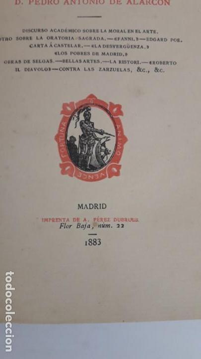 Libros antiguos: JUICIOS LITERARIOS Y ARTÍSTICOS. 1ª edición, 1883. - Foto 6 - 168128776