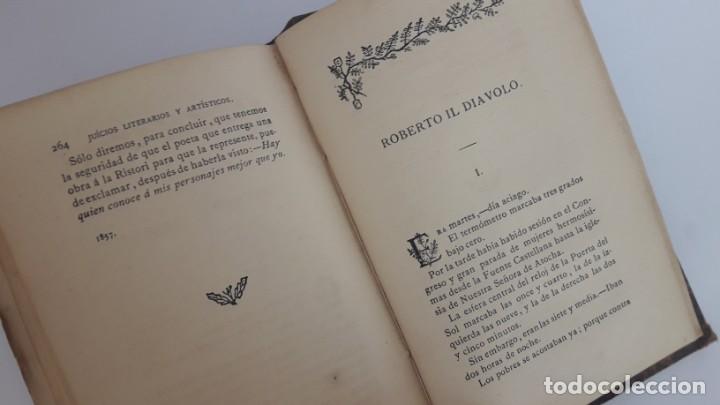Libros antiguos: JUICIOS LITERARIOS Y ARTÍSTICOS. 1ª edición, 1883. - Foto 8 - 168128776
