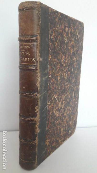 JUICIOS LITERARIOS Y ARTÍSTICOS. 1ª EDICIÓN, 1883. (Libros antiguos (hasta 1936), raros y curiosos - Literatura - Ensayo)