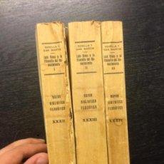 Libros antiguos: LUIS VIVES Y LA FILOSOFIA DEL RENACIMIENTO, BONILLA Y SAN MARTIN, 1929 (3 TOMOS). Lote 170291768