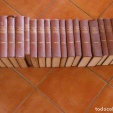Libros antiguos: IMPRESIONANTE LOTE MAS DE 50 AÑOS DEL BOLETIN ACADEMIA BUENAS LETRAS BCN ENCUADERNADOS EN 18 TOMOS. Lote 170405092
