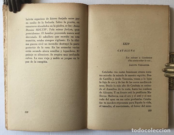 Libros antiguos: UNA HORA DE ESPAÑA. (ENTRE 1560 Y 1590). - AZORÍN. [José Martínez Ruiz]. - Madrid, 1939. - Foto 4 - 172083027