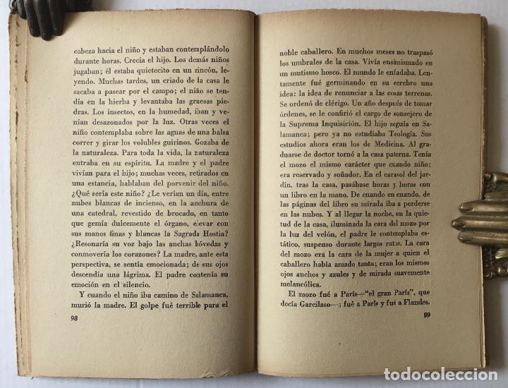 Libros antiguos: UNA HORA DE ESPAÑA. (ENTRE 1560 Y 1590). - AZORÍN. [José Martínez Ruiz]. - Madrid, 1939. - Foto 6 - 172083027