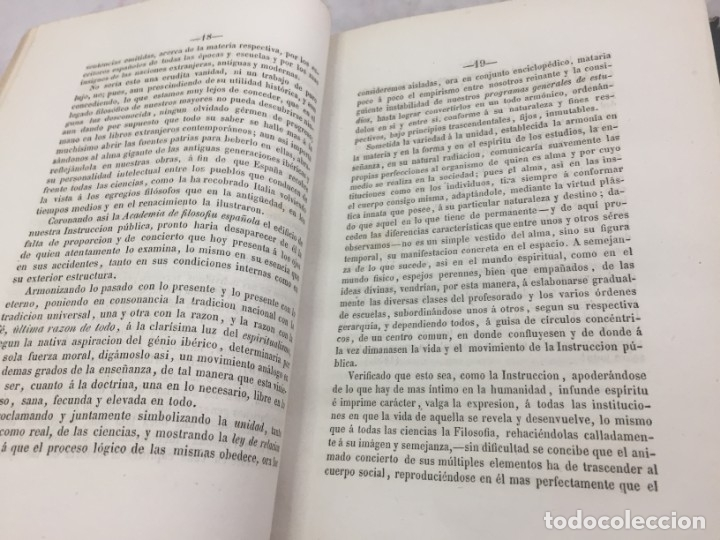 Libros antiguos: ENSAYOS CRÍTICOS SOBRE FILOSOFÍA INSTRUCCIÓN PÚBLICA ESPAÑOLA Laverde,Gumersindo Lugo Soto Freire 18 - Foto 3 - 174269228
