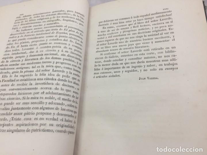 Libros antiguos: ENSAYOS CRÍTICOS SOBRE FILOSOFÍA INSTRUCCIÓN PÚBLICA ESPAÑOLA Laverde,Gumersindo Lugo Soto Freire 18 - Foto 4 - 174269228
