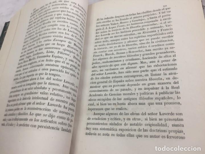 Libros antiguos: ENSAYOS CRÍTICOS SOBRE FILOSOFÍA INSTRUCCIÓN PÚBLICA ESPAÑOLA Laverde,Gumersindo Lugo Soto Freire 18 - Foto 5 - 174269228