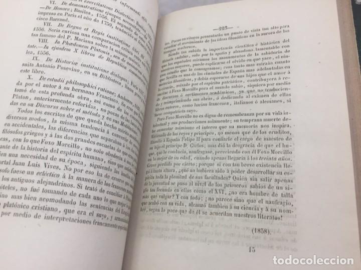 Libros antiguos: ENSAYOS CRÍTICOS SOBRE FILOSOFÍA INSTRUCCIÓN PÚBLICA ESPAÑOLA Laverde,Gumersindo Lugo Soto Freire 18 - Foto 7 - 174269228