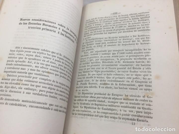 Libros antiguos: ENSAYOS CRÍTICOS SOBRE FILOSOFÍA INSTRUCCIÓN PÚBLICA ESPAÑOLA Laverde,Gumersindo Lugo Soto Freire 18 - Foto 9 - 174269228