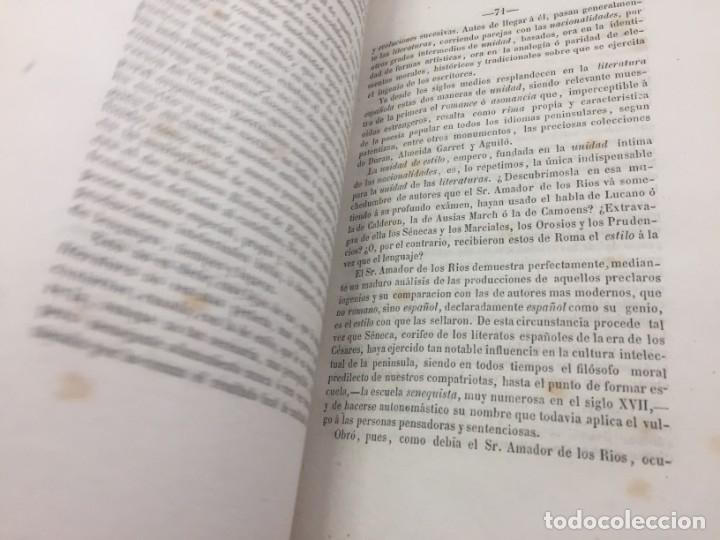 Libros antiguos: ENSAYOS CRÍTICOS SOBRE FILOSOFÍA INSTRUCCIÓN PÚBLICA ESPAÑOLA Laverde,Gumersindo Lugo Soto Freire 18 - Foto 12 - 174269228