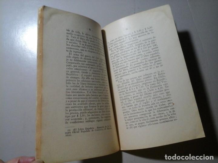 Libros antiguos: LEOPOLDO CALVO SOTELO. EL LIBRO ESPAÑOL EN AMÉRICA. 1ª EDICIÓN 1927. HISTORIA. BIBLIOFÍLIA. RARO. - Foto 3 - 176450084