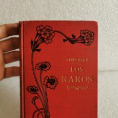 Libros antiguos: RUBÉN DARÍO LOS RAROS ED. MAUCCI - POE VERLAINE LAUTRÉAMONT VILLIERS IBSEN JOSE MARTI..... Lote 177379782