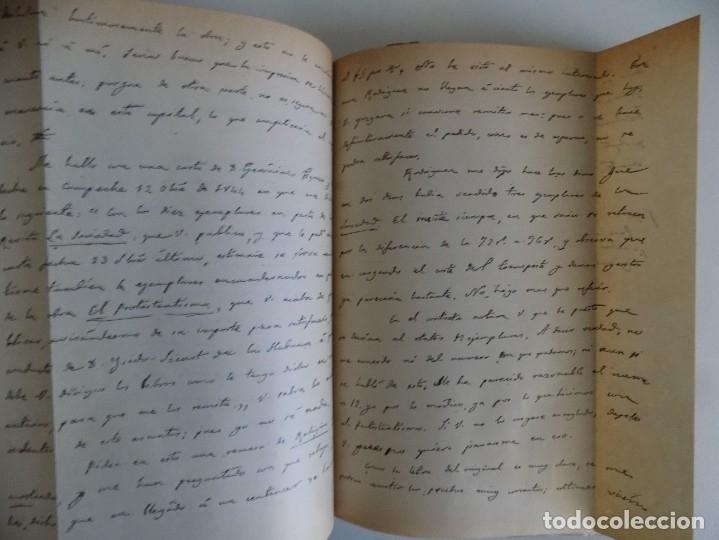 Libros antiguos: LIBRERIA GHOTICA. HOMENAJE A BALMES. LA CASA BRUSI 1910.FOLIO. EDICIÓN NUMERADA EN PIEL. - Foto 7 - 178825705