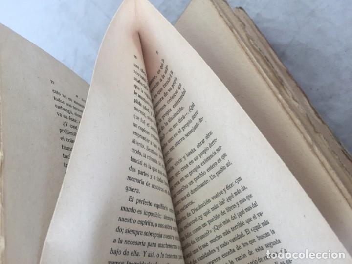 Libros antiguos: Miguel de Unamuno Ensayos tomo V residencia de estudiantes buen estado 1ª edición 1917 - Foto 8 - 181433561