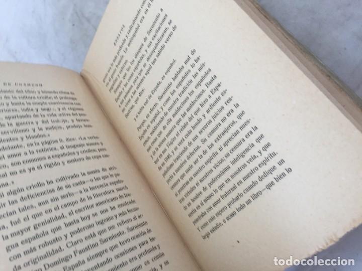 Libros antiguos: Miguel de Unamuno Ensayos tomo VII residencia de estudiantes buen estado 1ª edición 1918 - Foto 8 - 181433633