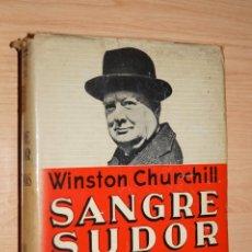 Libros antiguos: SANGRE, SUDOR Y LAGRIMAS. WINSTON CHURCHILL. Lote 182826347