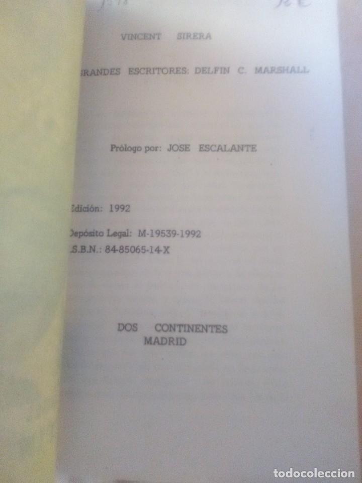 Libros antiguos: Delfín Marshall por Vicent sirera - Edicion de 1982. - Foto 2 - 182967961