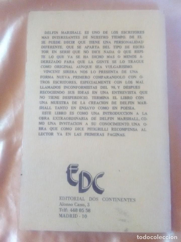 Libros antiguos: Delfín Marshall por Vicent sirera - Edicion de 1982. - Foto 3 - 182967961
