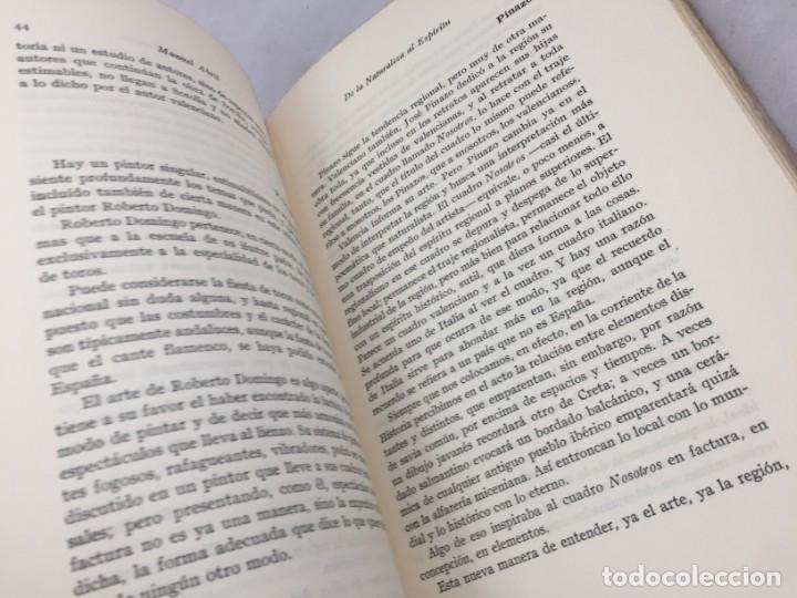 Libros antiguos: De la naturaleza al espíritu. 1935. 1ª Edición, Manuel Abril con firma y dedicatoria del autor - Foto 9 - 184341518