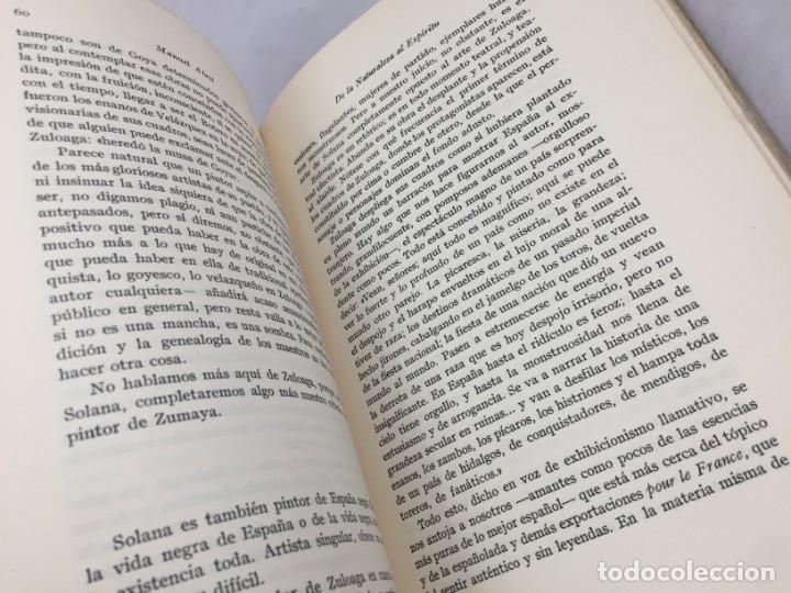 Libros antiguos: De la naturaleza al espíritu. 1935. 1ª Edición, Manuel Abril con firma y dedicatoria del autor - Foto 10 - 184341518
