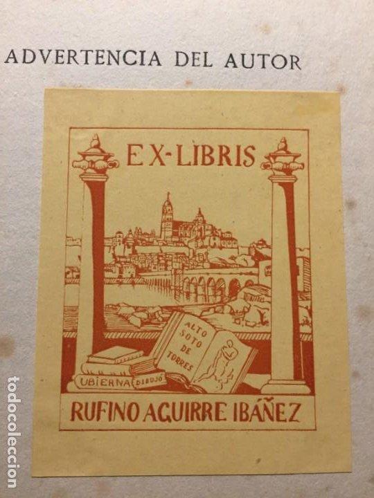 Libros antiguos: BREVIARIO DE ESTETICA BENEDETTO CROCE MUNDO LATINO EX LIBRIS RUFINO AGUIRRE IBAÑEZ - Foto 2 - 184398151