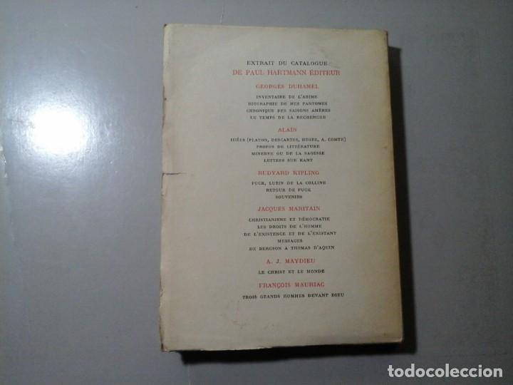 Libros antiguos: ALAIN. PROPOS DE LITTÉRATURE. 1ª EDICIÓN 1934. PAUL HARTMANN EDITEUR. ENSAYO. VANGUARDIAS. - Foto 2 - 186319768